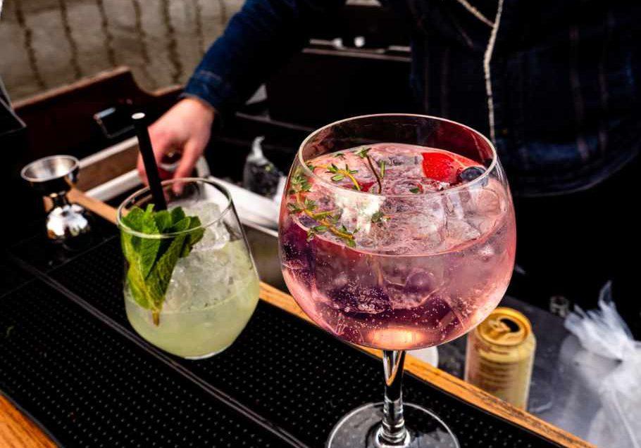 Cocktails ingezooms