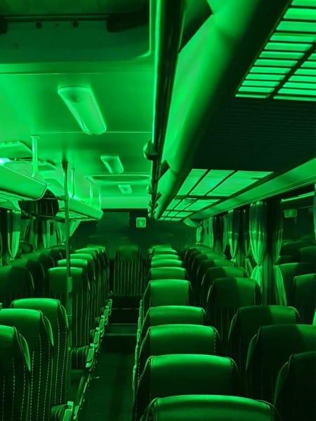 Partybus Groen